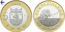 Finlande 5 Euro, Castor Stakunta - 2015