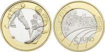 Finlande 5 Euro, Hockey sur glace - 2016