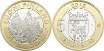 Finlande 5 Euro, Lynx - 2015