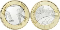 Finlande 5 Euro, Patinage - 2015