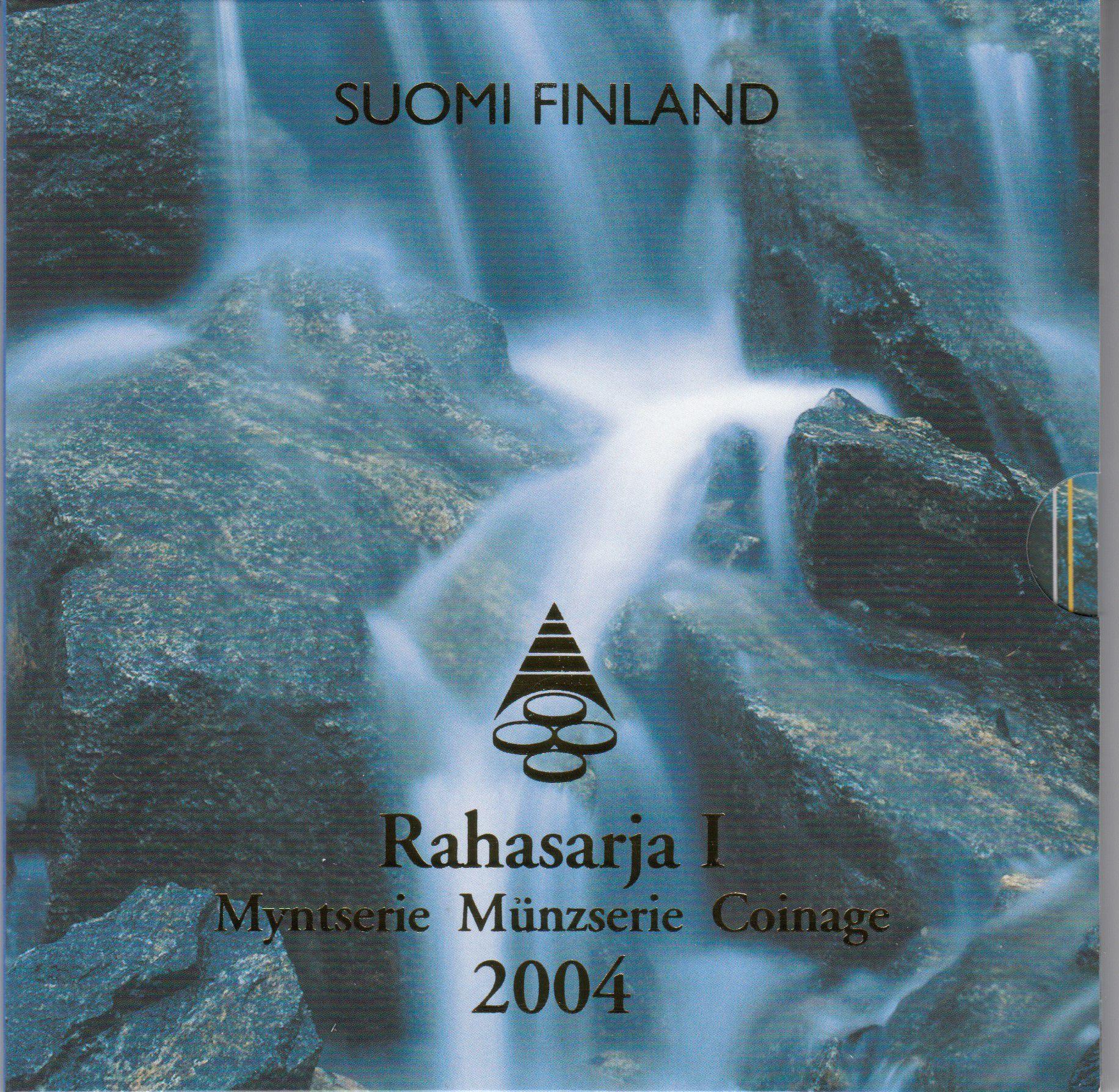 Finlande Coffret BU Finlande 2004 - 8 monnaies en euro