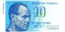 Finnland 10 Markkaa Paavo Nurmi - Helsinki stadium - 1986