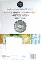 France - Monnaie de Paris 10 Euro Printemps 2014 - Egalité