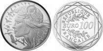 France - Monnaie de Paris 100 Euro Argent Marianne 2017