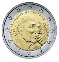 France - Monnaie de Paris 2 Euro François Mitterrand - 2016