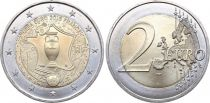 France - Monnaie de Paris 2 Euro UEFA - Euro de football - 2016