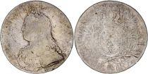 France  Ecu Louis XV arms of France with sprays - 1728 A Paris