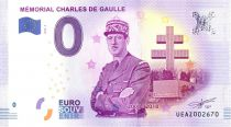 France 0 Euro 2017 - Charles de Gaulle - Touristic banknote