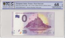 France 0 Euro 2017 - Mont Saint Michel - Billet touristique - PCGS 68 OPQ