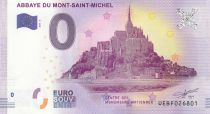 France 0 Euro 2017 - Mont Saint Michel - Touristic banknote