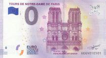 France 0 Euro 2017 - Tours de Notre-Dame de Paris - Billet touristique