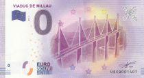 France 0 Euro 2018 - Millau Bridge - Touristic banknote