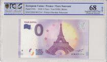 France 0 Euro 2018 - Tour Eiffel Paris - Billet touristique - PCGS 68 OPQ