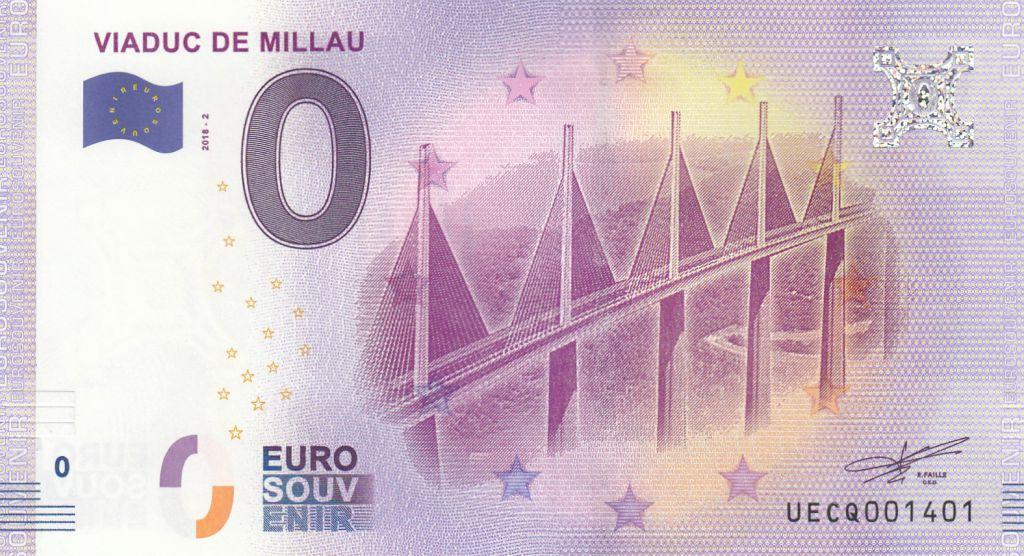 billet de 0 euros acheter