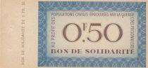 France 0.50 Franc , 0.50 Franc - Bon de Solidarité sans effigie, avec souche