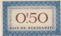 France 0.50 Franc Bon de Solidarité - WWII - 1941-1942