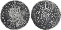 France 1/10 Ecu Louis XV - 1733 T Nantes - Argent