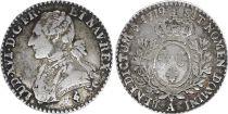 France 1/10 Ecu Louis XVI - 1779 A Paris - Silver