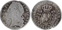 France 1/10ème Ecu 1/10ème Ecu, Louis XV - D Lyon
