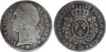 France 1/10ème Ecu Louis XV  -  1741 H La Rochelle - Silver
