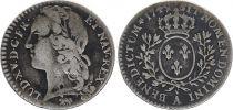 France 1/10ème Ecu Louis XV  -  1749 Paris - Silver