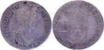 France 1/2 Ecu Louis XIV a la mèche longue - 1649 M Toulouse