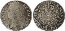 France 1/2 Ecu Louis XV au bandeau - 1764 L