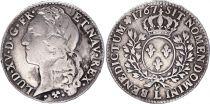 France 1/2 Ecu Louis XV au bandeau - 1767 L
