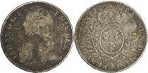 France 1/2 Ecu Louis XV aux branches d\'olivier - 1726 A