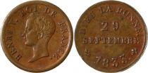 France 1/2 Franc (Module), Henri V - 13 ème anniversaire - 1833