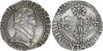 France 1/2 Franc Henri III Col Plat - Silver