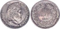 France 1/2 Franc Louis-Philippe 1er - 1831  K Bordeaux Rare