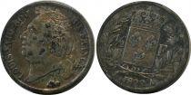 France 1/2 Franc Louis XVIII