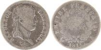 France 1/2 Franc Napoléon I - 1811 A Paris - Argent