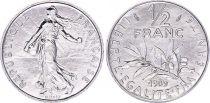 France 1/2 Franc Seed sower - 1989 - UNC