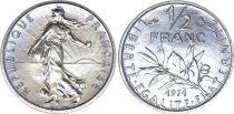 France 1/2 Franc Semeuse - 1971 - FDC - ISSU DE COFFRET