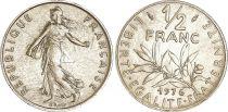 France 1/2 Franc Semeuse - 1976 - FDC - ISSU DE COFFRET