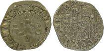 France 1/2 Gros, Duché de Lorraine - Henri II (1608-1624) - 1624