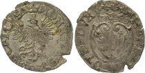 France 1/2 Gros, Duché de Lorraine - Henri II (1608-1624) 5 ème ex