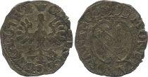 France 1/2 Gros de Nancy, Duché de Lorraine - Charles IV et Nicole (1624-1625) - 3th ex