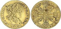 France 1/2 Louis d\'or, Louis XIII (1610-1643) - 1641 A Paris - Gold