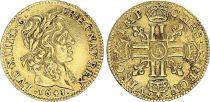 France 1/2 Louis d\'or, Louis XIII (1610-1643) - 1641 A Paris - Or