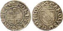 France 1/2 Sol Carolus, Charles III (1555-1608) - Nancy - 4ème ex