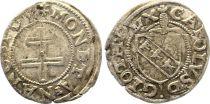 France 1/2 Sol Carolus, Charles III (1555-1608) - Nancy - 5ème ex