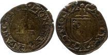 France 1/2 Sol Carolus, Duché de Lorraine - Charles III (1555-1608) - Nancy 6nd ex