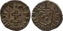 France 1/2 Sol Carolus, Duché de Lorraine - Charles III (1555-1608) - Nancy 8nd ex