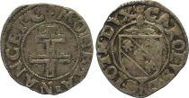 France 1/2 Sol Carolus, Duché de Lorraine - Charles III (1555-1608) - Nancy Lettre B