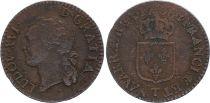 France 1/2 Sol Louis XVI - 1788 T Nantes