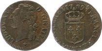 France 1/2 Sol Louis XVI - 1789 W
