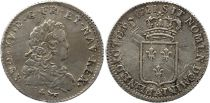 France 1/3 Ecu de France Louis XV - 1720 A Paris Argent